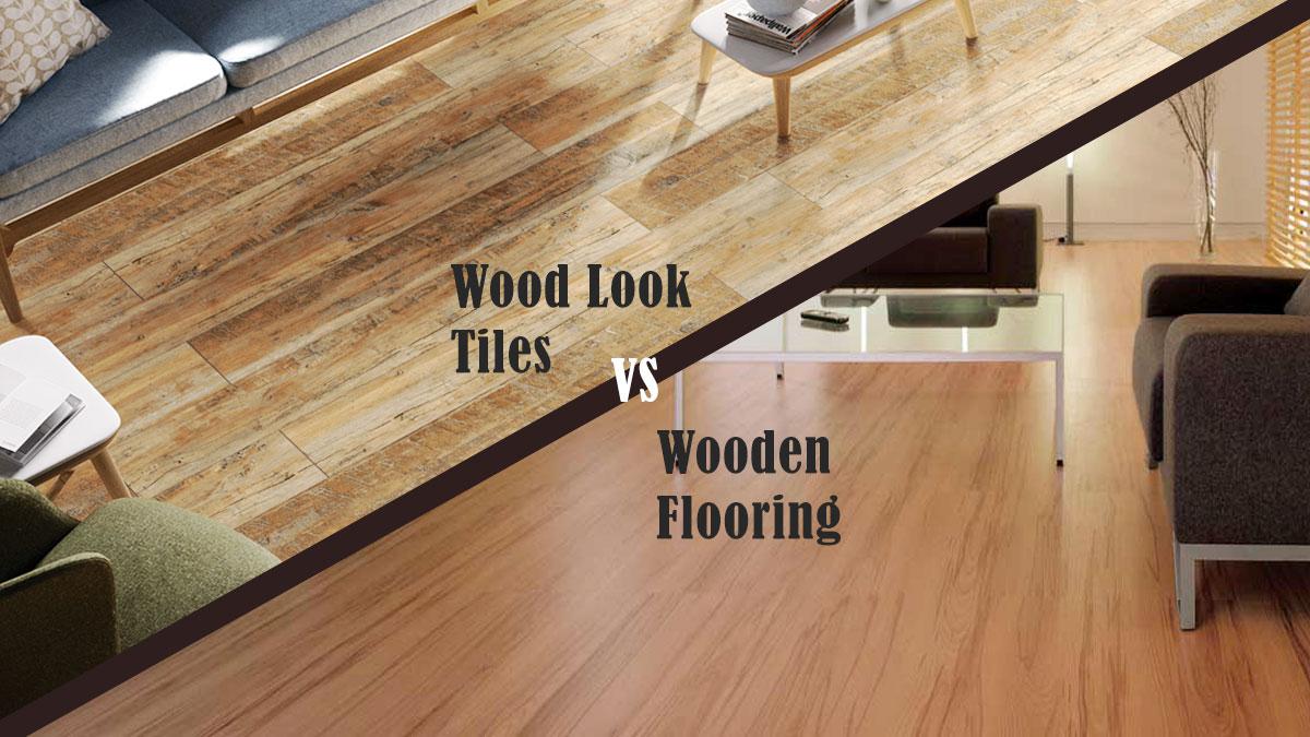 Wood Tils Vs Wooden Flooring