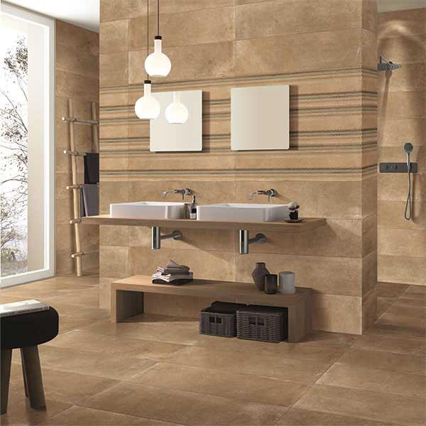 Kankare cotto decor the slim 30x120 cm eternity hd for Bathroom designs kajaria