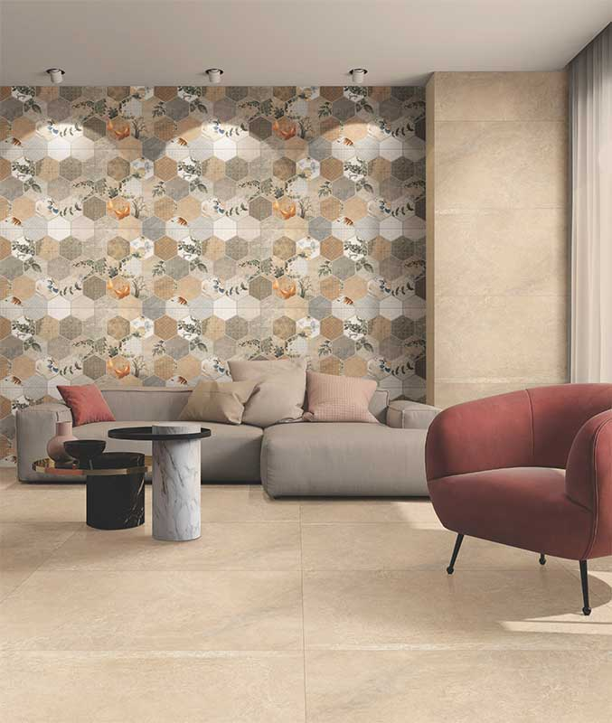 Tile Designs For Living Room