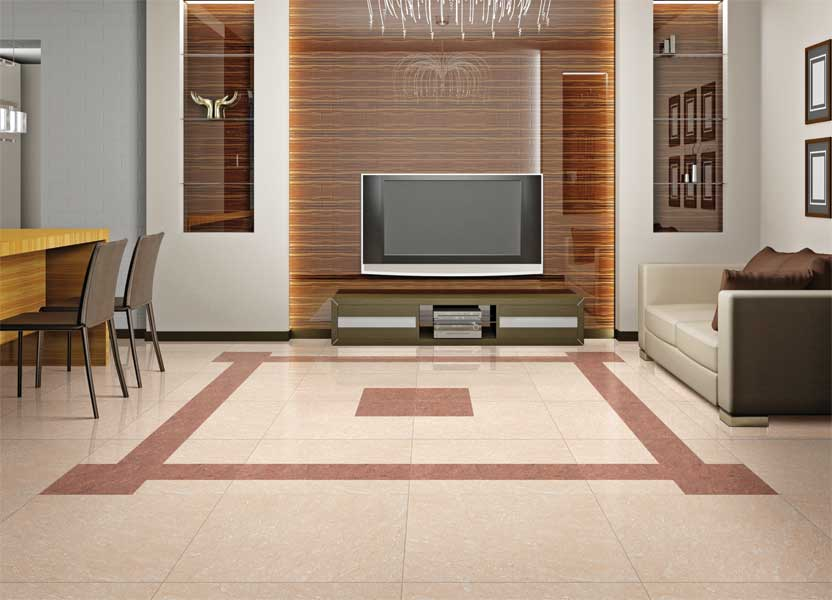 K 6207 60x60 cm polished vitrified tiles Which is best tiles for flooring in india