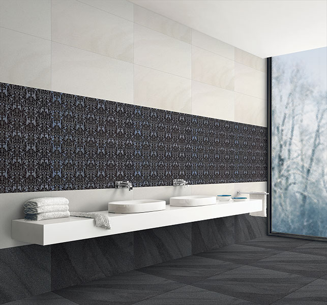 40x80 cm - Signature Wall, Double Charge Floor Tiles, Double Charge Vitrified Floor Tiles, Double Charge Vitrified Tiles