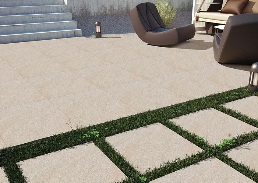 Tiles for high traffic area