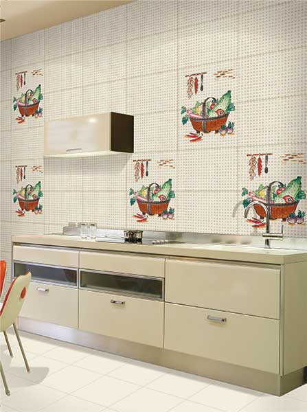 Kitchen Tiles Kajaria kitchen - ceramic wall & floor tiles