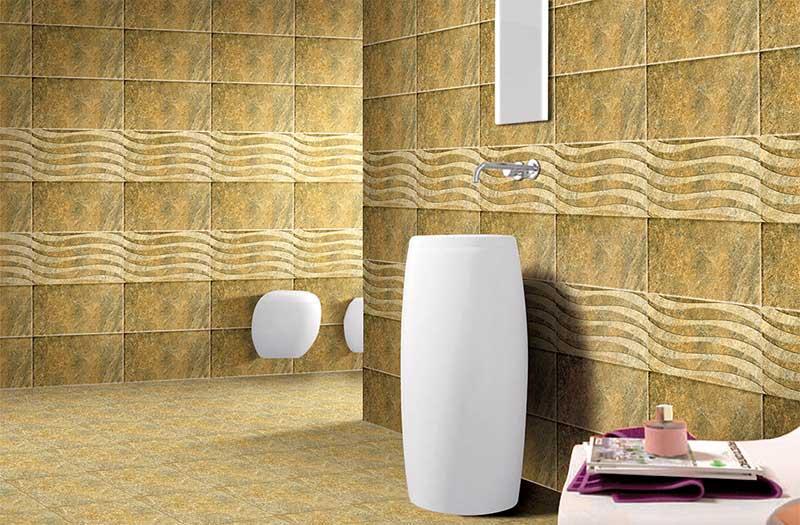 Castle stone dark 30x30 cm floor tiles satin matt digital for Bathroom tiles concept design
