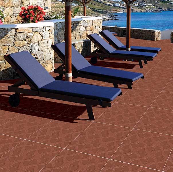 Terracotta Color Tiles