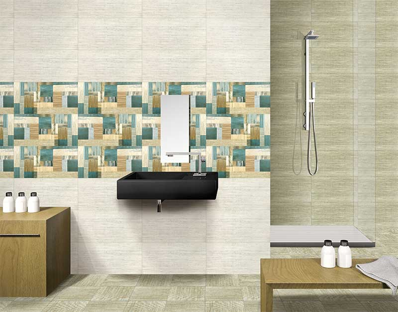 Fahrenhiet Marfil Digital 30x60 Cm Wall Tiles Satin Matt