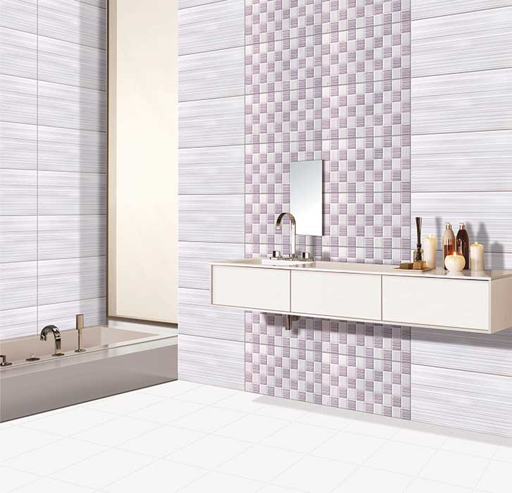Kajaria bathroom tiles highlighters with luxury creativity for Bathroom designs kajaria