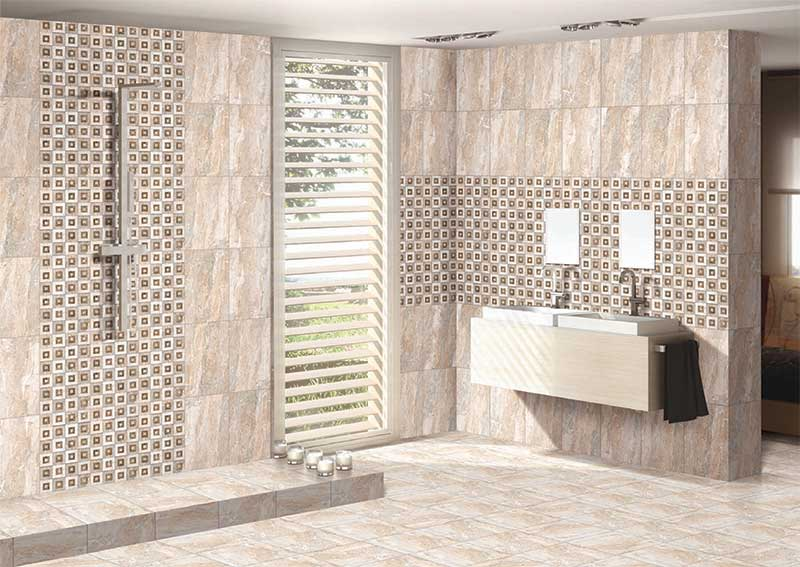 Bathroom Tiles Designs With Highlighters : Cera exim digital wall tiles floor bathroom