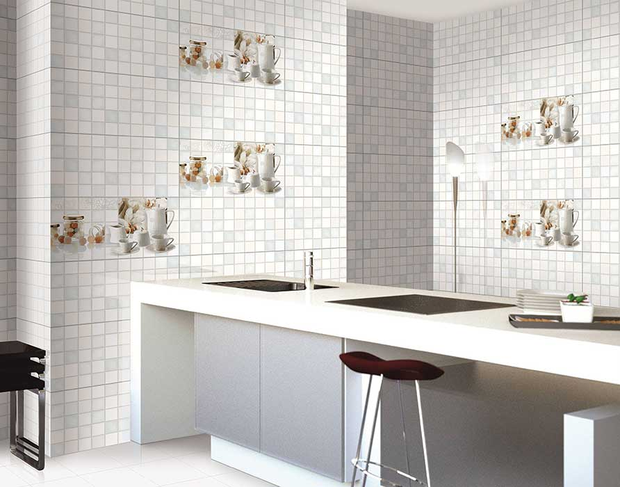 Kitchen Tiles Highlighters corfu kitchen highlighter - 1, digital - 30x60 cm, wall tiles, glossy
