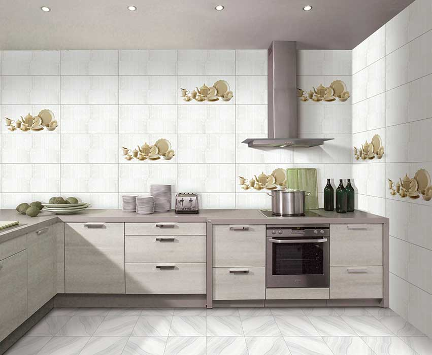 Kitchen Tiles Kajaria petra kitchen highlighter, digital - 30x60 cm, wall tiles, glossy