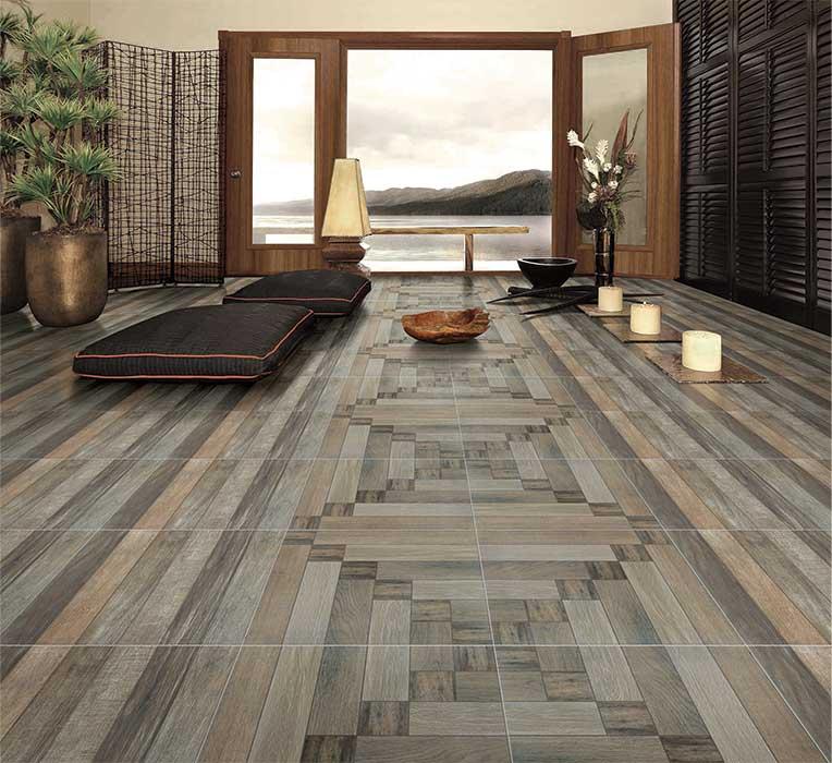 Heritage Wood Digital 60x60 Cm Floor Tiles Matt
