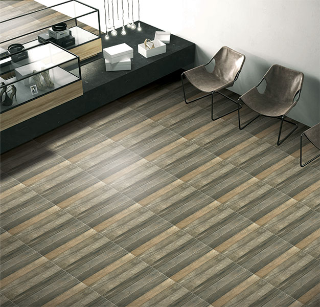 Heritage Wood Digital 60x60 Cm Floor Tiles Matt