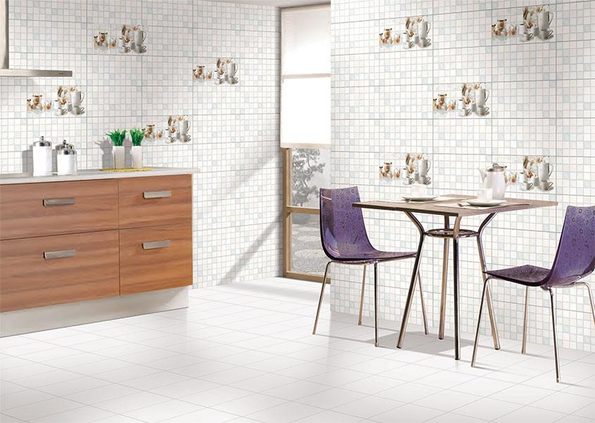 Corfu Kitchen Highlighter 1 Digital 30x60 Cm Wall Tiles Glossy