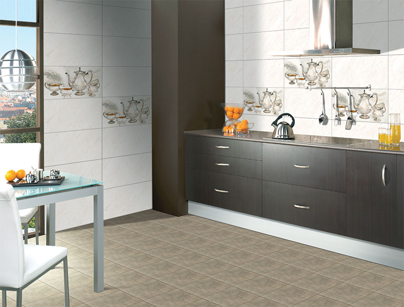 Kitchen Tiles Highlighters davos kitchen highlighter, digital - 30x60 cm, wall tiles, glossy