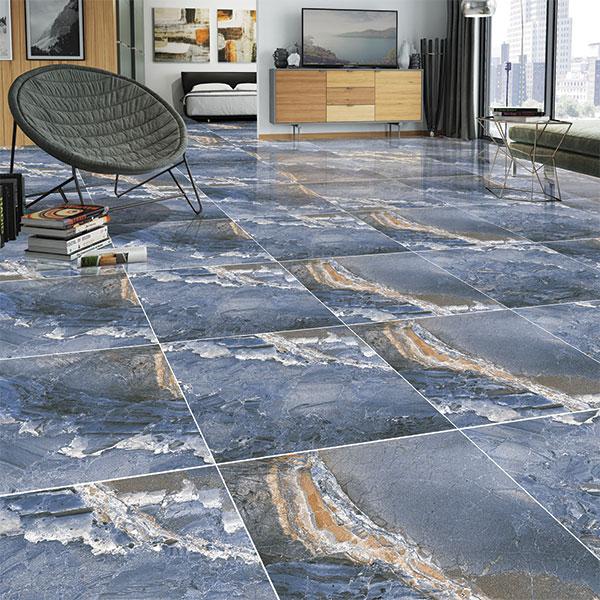Blue Granite, Glam - 60x60 cm, Floor Tiles, Polished
