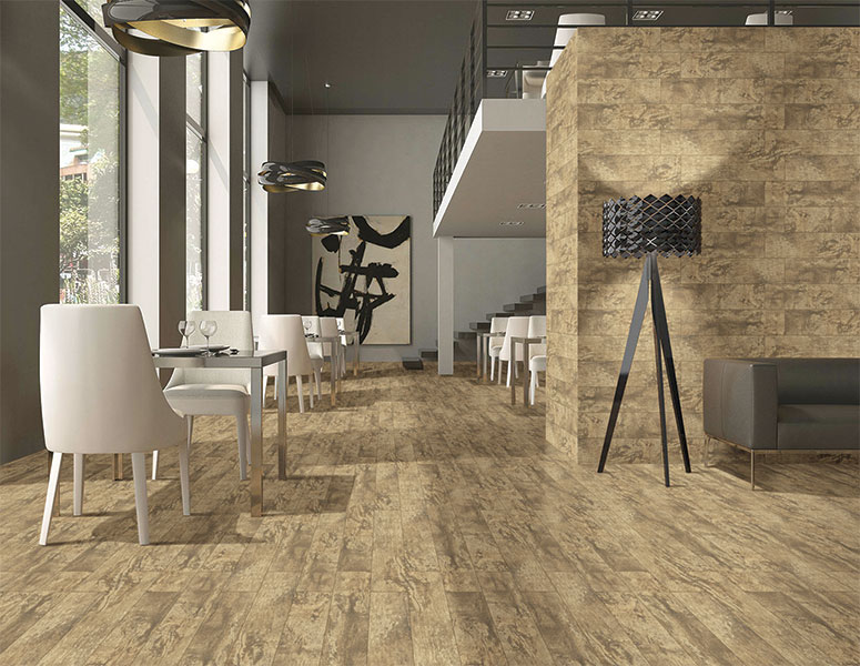 15x60 cm - Wood, Double Charge Floor Tiles, Double Charge Vitrified Floor Tiles, Double Charge Vitrified Tiles