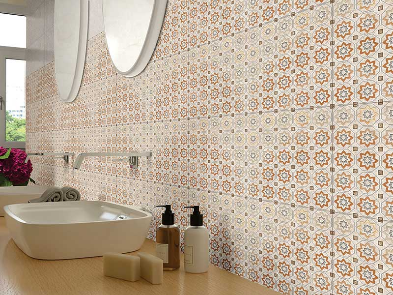 30x60 cm - Impression, Double Charge Floor Tiles, Double Charge Vitrified Floor Tiles, Double Charge Vitrified Tiles