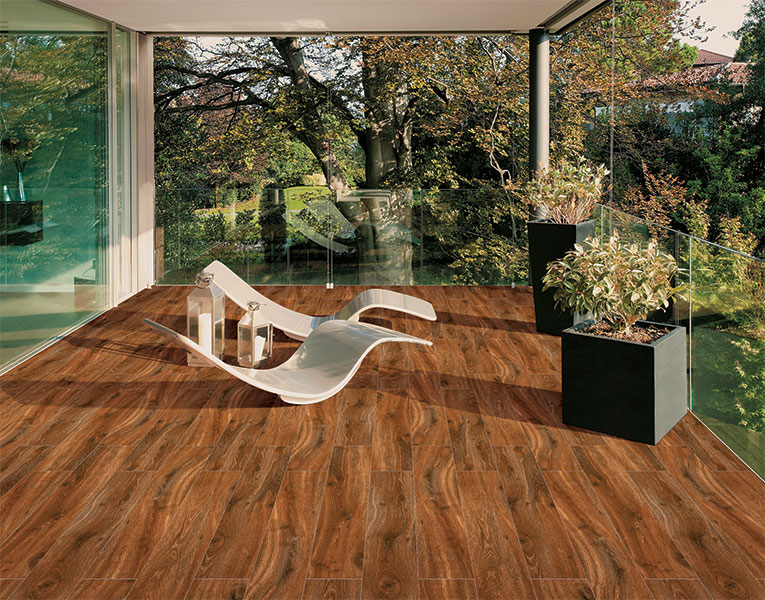 Africana Wenge Floor Tiles Planks 20x120 Cm