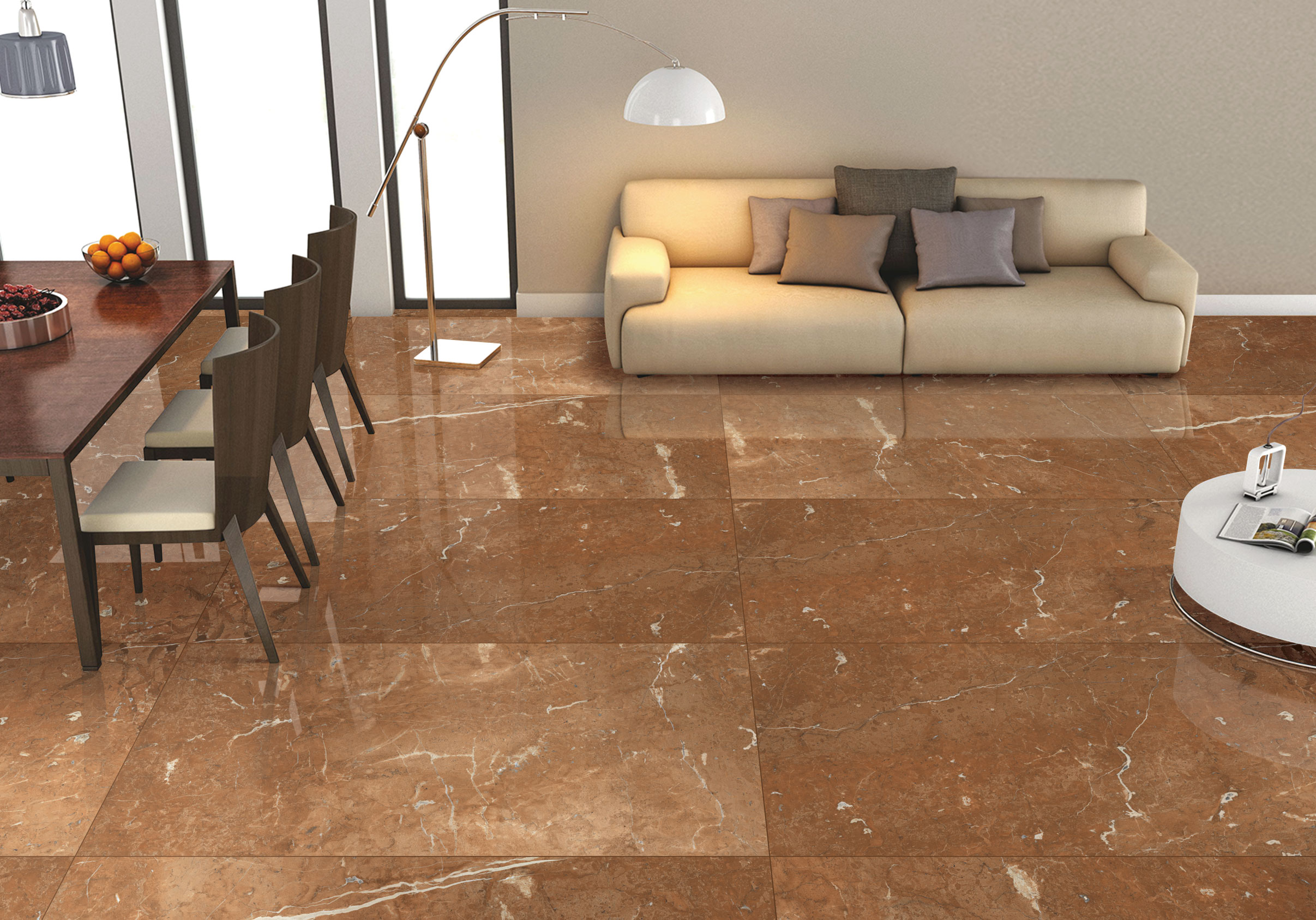 The Latest Trends in Ceramic Floor Tiles