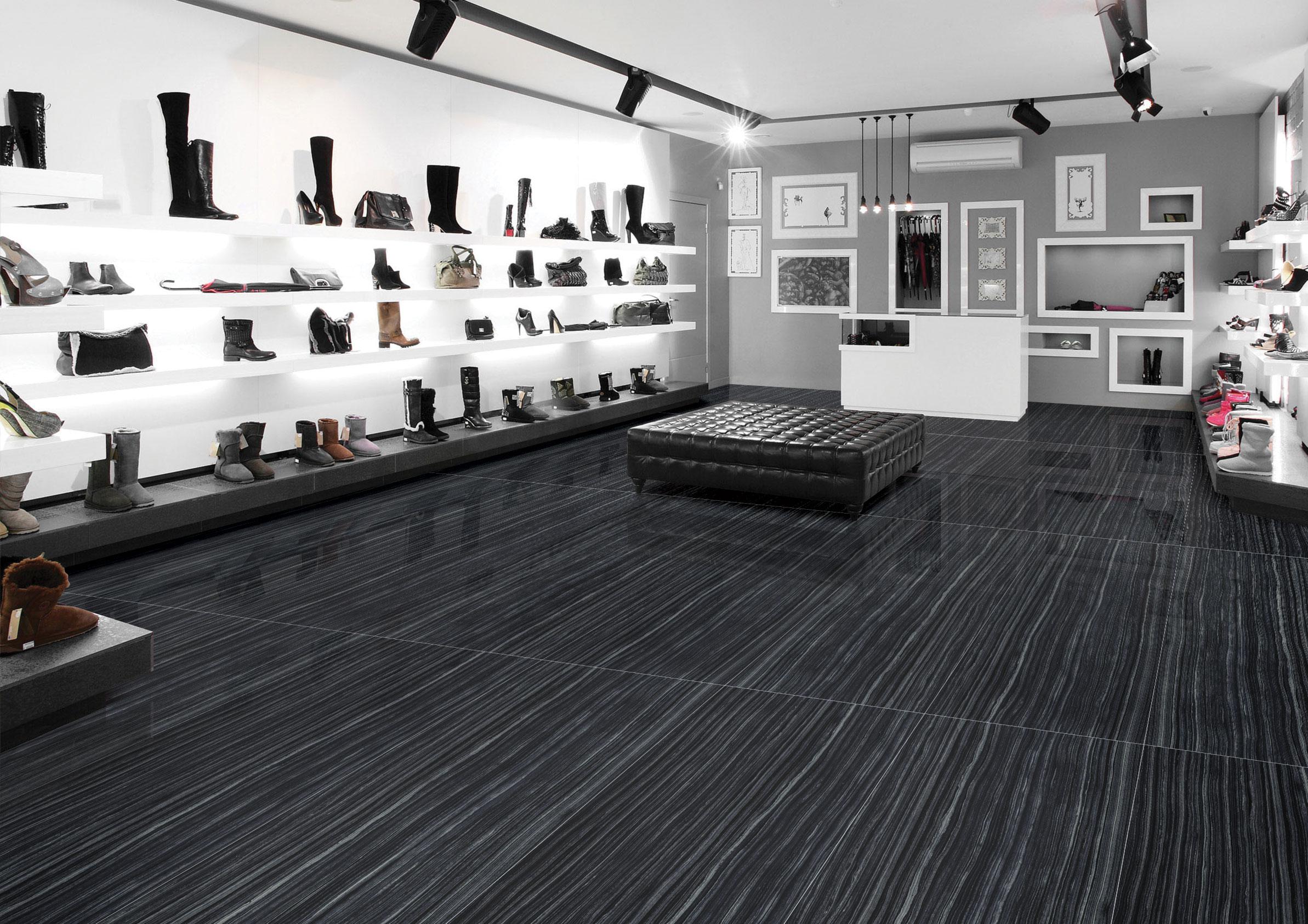 Black Marble Texture Tiles