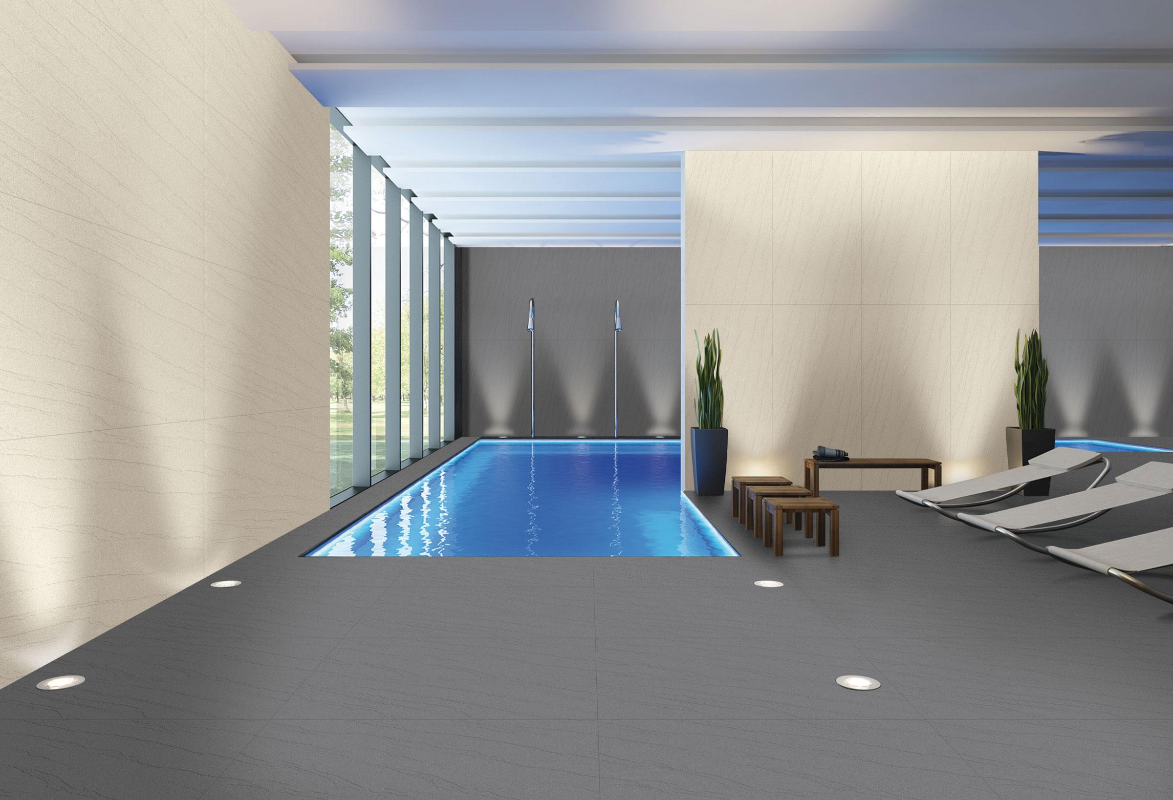 Granula Gris Gres Tough 60x120 Cm Commercial Spaces