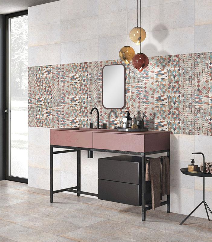 matt finish tiles for bathroom
