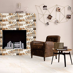 Living Room Purpose Wall Tiles By Kajaria Ceramics Limited