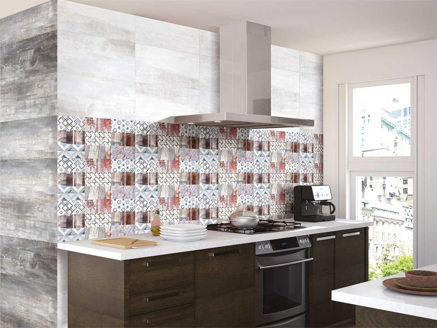 Metallic Kitchen Tiles In India