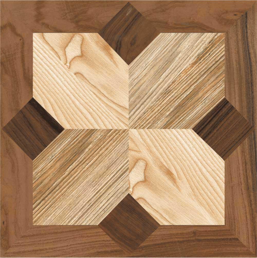 Star Wood, Digital - 60x60 cm, Floor Tiles, Matt