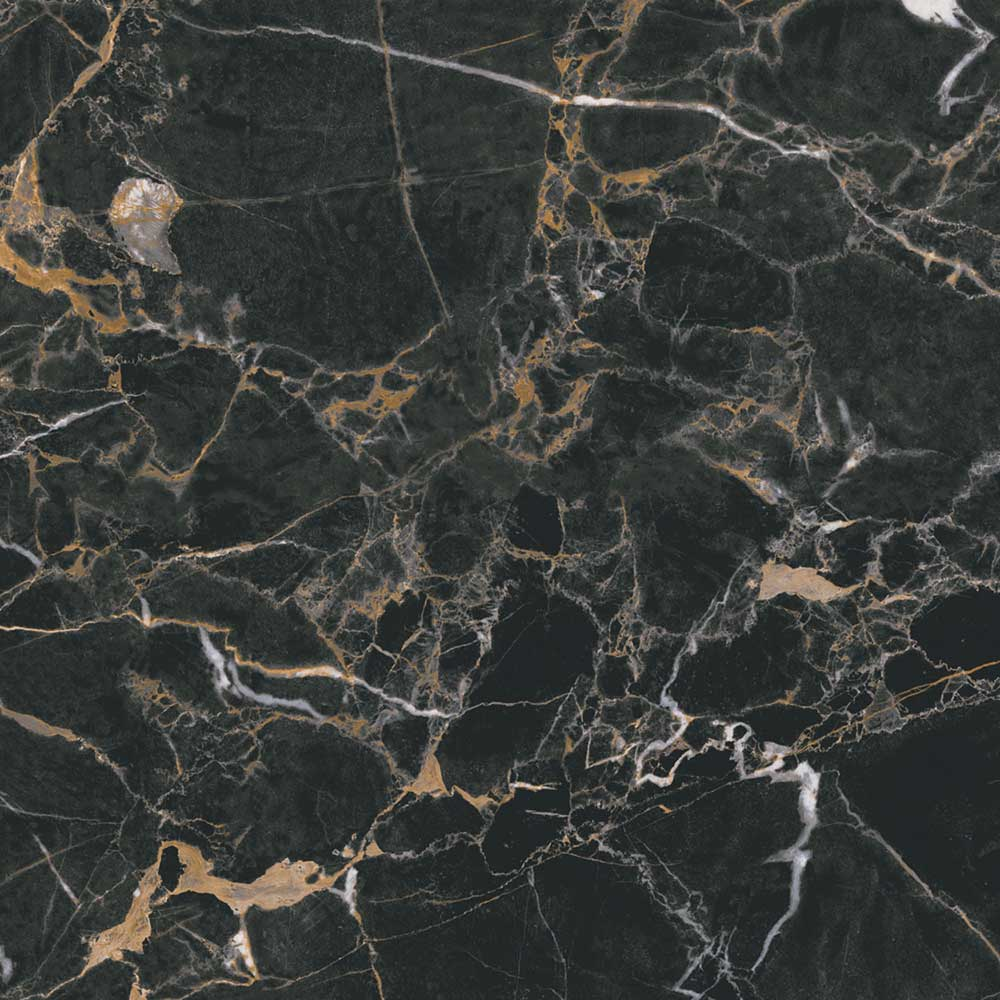 Black Onyx Gres Tough Floor Tiles Polished