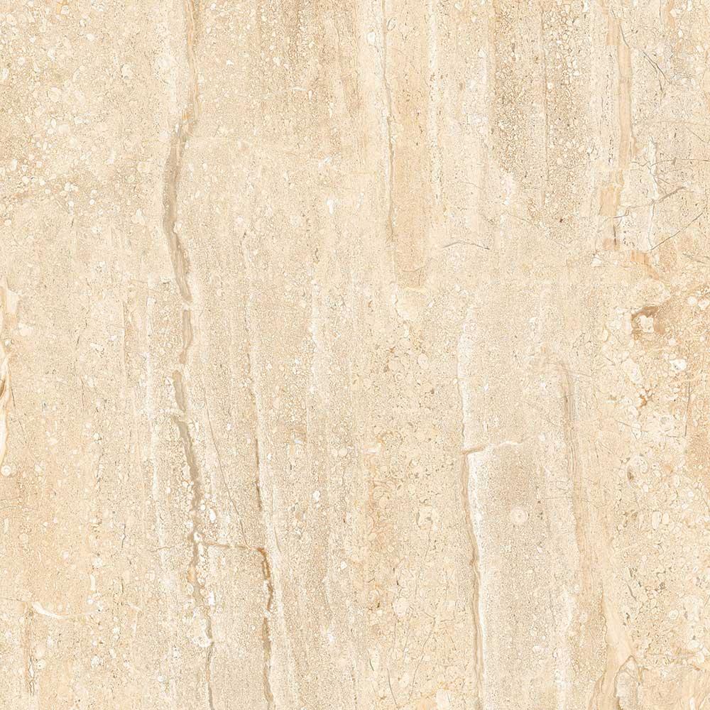 Travertine Beige Gres Tough 80x80 Cm Floor Tiles Polished