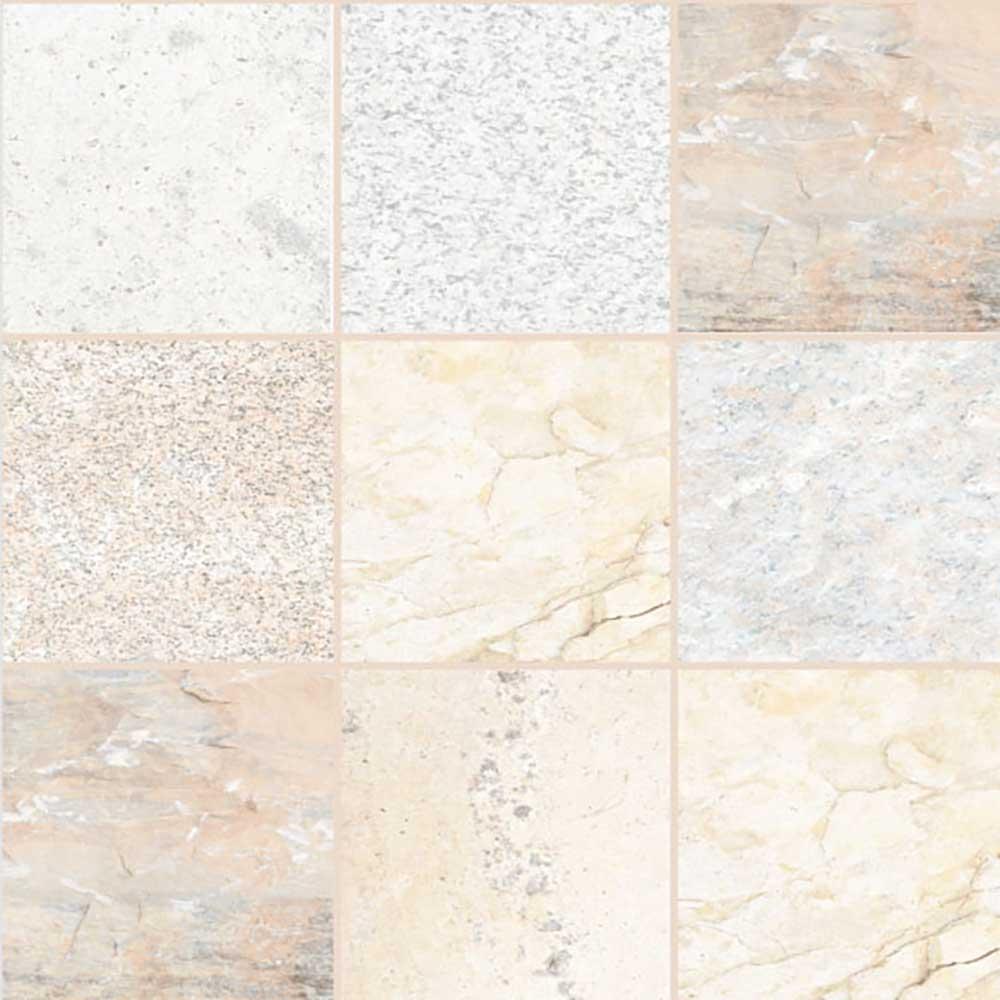 Mantra Natural 40x40 Cm Floor Tiles Satin Matt