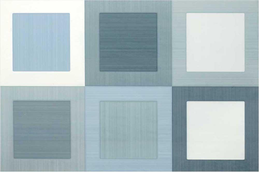 Hexa Azul, Digital - 30x45 cm, Wall Tiles, Glossy