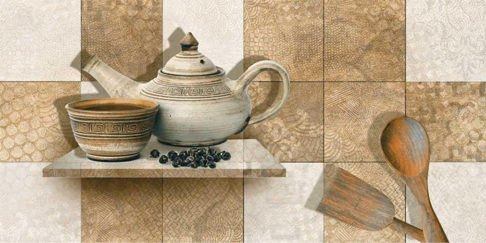 Evoque Kitchen Highlighter Digital 30x60 Cm Wall Tiles Satin Matt